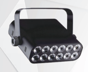 12*12w led ip20 par light