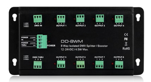 DMX SPLITTER BOOSTER