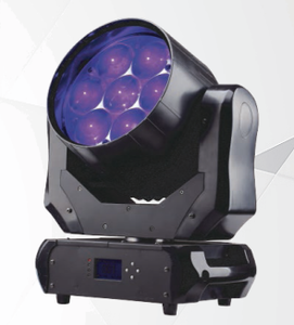 7*40w led zoom wash beam moving head